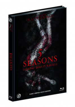 5 SEASONS - DIE FÜNF TORE ZUR HÖLLE (Blu-Ray+DVD) (2Discs) - Cover A - Mediabook - Limited 500 Edition