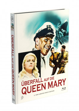 ÜBERFALL AUF DIE QUEEN MARY - 2-Disc Mediabook Cover A [Blu-ray + DVD] Limited 50 Edition - Uncut
