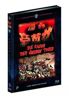 RACHE DER GELBEN TIGER, DIE (Blu-Ray+DVD) (2Discs) - Cover B - Mediabook - Limited 444 Edition
