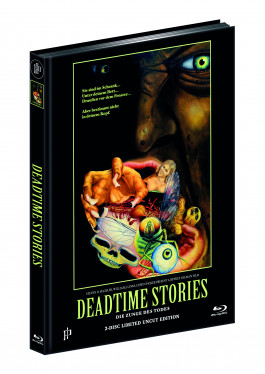DEADTIME STORIES - ZUNGE DES TODES (Blu-ray + DVD) - Cover B - Mediabook - Limited 333 Edition - UNCUT