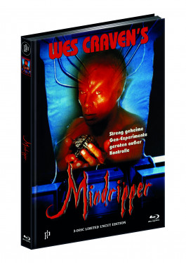 THE HILLS HAVE EYES 3 - WES CRAVENS MINDRIPPER (Blu-ray + DVD) - Cover B - Mediabook - Limited 444 Edition - UNCUT