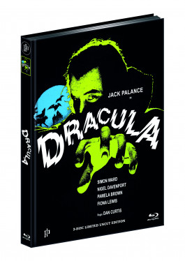 DRACULA (1974) (Blu-ray + DVD) - Cover C - Mediabook - Limited 111 Edition - UNCUT