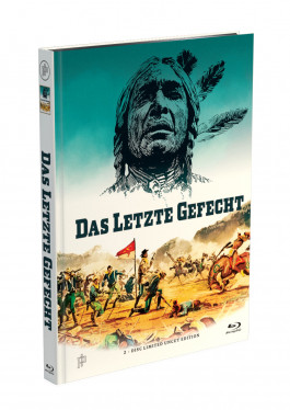 DAS LETZTE GEFECHT - 2-Disc Mediabook Cover A [Blu-ray + DVD] Limited 50 Edition - Uncut