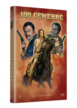 """Hollywood Classic Hartbox Collection """"100 GEWEHRE""""  - Grosse Hartbox Cover A [Blu-ray] Limited 50 Edition - Uncut"""