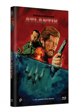 """Hollywood Classic Hartbox Collection """"SPRENGKOMMANDO ATLANTIK"""" - Grosse Hartbox Cover A [Blu-ray] Limited 50 Edition - Uncut"""