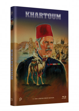 """Hollywood Classic Hartbox Collection """"KHARTOUM"""" - Grosse Hartbox Cover A [Blu-ray] Limited 50 Edition - Uncut"""
