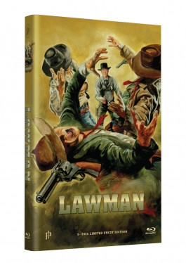 """Hollywood Classic Hartbox Collection """"LAWMAN"""" - Grosse Hartbox Cover A [Blu-ray] Limited 50 Edition - Uncut"""