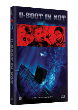 """Hollywood Classic Hartbox Collection """"U-BOOT IN NOT"""" - Grosse Hartbox Cover A [Blu-ray] Limited 50 Edition - Uncut"""
