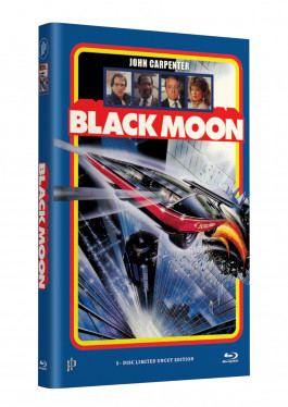 BLACK MOON - Grosse Hartbox Cover A [Blu-ray] Limited 33 Edition - Uncut