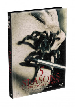 5 SEASONS - Die fünf Tore zur Hölle - 2-Disc wattiertes Mediabook - Cover T (Blu-ray + DVD) Limited 22 Edition - Uncut