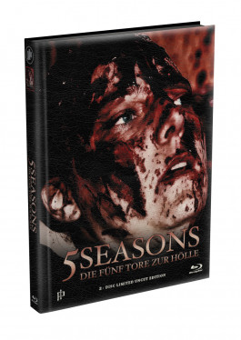5 SEASONS - Die fünf Tore zur Hölle - 2-Disc wattiertes Mediabook - Cover V (Blu-ray + DVD) Limited 22 Edition - Uncut