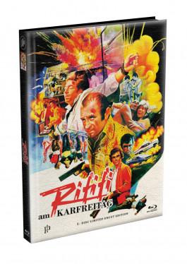 RIFIFI AM KARFREITAG (The Long Good Friday) - wattiertes Mediabook Cover A [Blu-ray] Limited 166 Edition