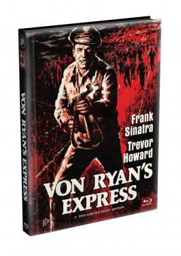 VON RYANS EXPRESS - Wattiertes Mediabook Cover A [Blu-ray] Limited 149 Edition