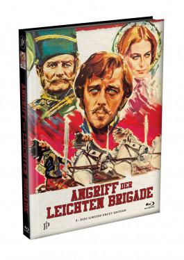 ANGRIFF DER LEICHTEN BRIGADE - wattiertes Mediabook Cover A [Blu-ray] Limited 166 Edition