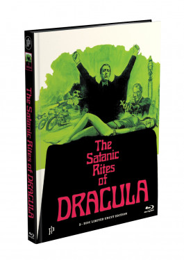 DRACULA BRAUCHT FRISCHES BLUT - 2-Disc Mediabook Cover K (Blu-ray + DVD) Limited 88 Edition - Uncut