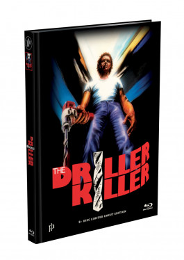 DRILLER KILLER - 2-Disc Mediabook Edition (Blu-ray + DVD) - Cover F Limited 66