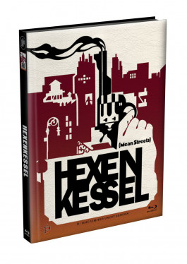 HEXENKESSEL (Mean Streets) 2-Disc wattiertes Mediabook Cover D [Blu-ray + DVD] Limited 66 Edition