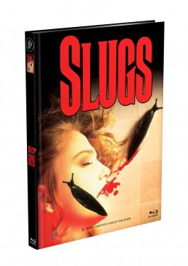 SLUGS - 3-Disc Mediabook Cover A (Blu-ray + 2xDVD) Limited 111 Edition - Uncut