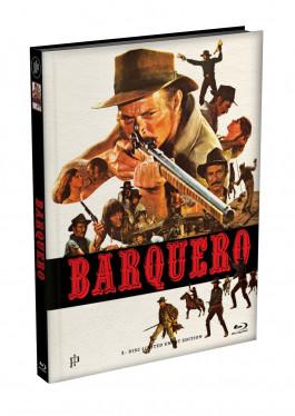 BARQUERO - Wattiertes Mediabook Cover A [Blu-ray] Limited 149 Edition