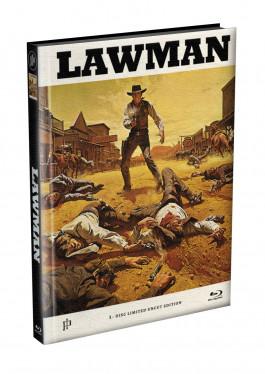 LAWMAN - Wattiertes Mediabook Cover A [Blu-ray] Limited 149 Edition