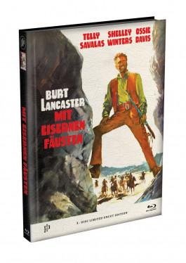 MIT EISERNEN FÄUSTEN - Wattiertes Mediabook Cover A [Blu-ray] Limited 122 Edition