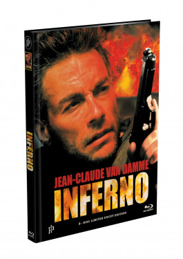 INFERNO (Jean-Claude Van Damme) - 2-Disc Mediabook Cover A (Blu-ray + DVD) Limited 66 Edition - Uncut