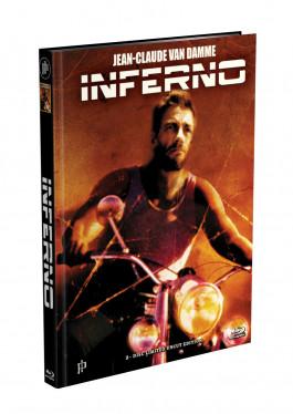 INFERNO (Jean-Claude Van Damme) - 2-Disc Mediabook Cover B (Blu-ray + DVD) Limited 66 Edition - Uncut