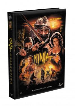 NINJA COLLECTION (4 Ninja Filme) - 8-Disc wattiertes Mediabook [4 Blu-ray + 4 DVD] Limited 399 Edition - Uncut