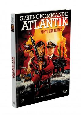 SPRENGKOMMANDO  ATLANTIK - 2-Disc Mediabook Cover A [Blu-ray + DVD] Limited 50 Edition - Uncut