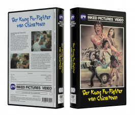 DER KUNG FU-FIGHTER VON CHINATOWN - CHINATOWN KID - VideoCase Retro Edition Cover A - Limited 50 [DVD] Uncut