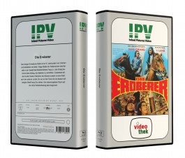 DIE EROBERER aka ALL MEN ARE BROTHERS - VideoCase Retro Edition Cover A - Limited 33 [Blu-ray] Uncut