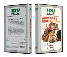 ZEHN GELBE FÄUSTE FÜR DIE RACHE aka The Angry Guest - VideoCase Retro Edition Cover A - Limited 50 [DVD] Uncut