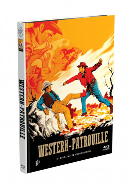 WESTERN-PATROUILLE - 2-Disc Mediabook Cover A [Blu-ray + DVD] Limited 50 Edition - Uncut
