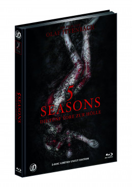 5 SEASONS - DIE FÜNF TORE ZUR HÖLLE (Blu-Ray+DVD) (2Discs) - Cover A - Mediabook - Limited 500 Edition