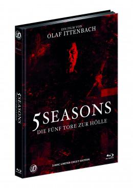 5 SEASONS - DIE FÜNF TORE ZUR HÖLLE (Blu-Ray+DVD) (2Discs) - Cover B - Mediabook - Limited 500 Edition