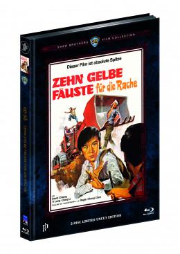 ZEHN GELBE FÄUSTE FÜR DIE RACHE (Blu-Ray+DVD) (2Discs) - Cover B - Mediabook - Limited 444 Edition