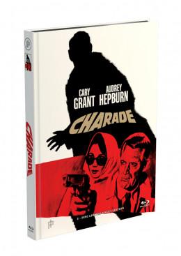 CHARADE - 2-Disc Mediabook Cover A [Blu-ray + DVD] Limited 50 Edition - Uncut - Bonusfilm DVD: Der Mann aus Kentucky