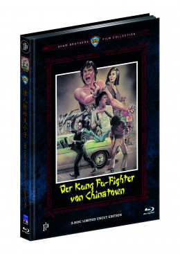 DER KUNG FU-FIGHTER VON CHINATOWN - CHINATOWN KID (Blu-ray + DVD) - Cover A - Mediabook - Limited 333 Edition - Uncut (Shaw Brothers)
