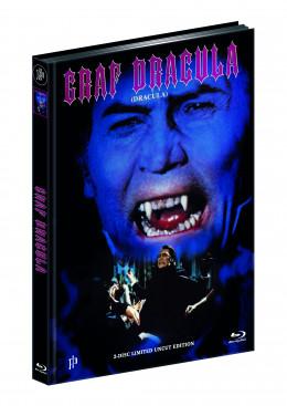 DRACULA (1974) (Blu-ray + DVD) - Cover B - Mediabook - Limited 111 Edition - UNCUT