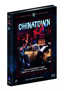 DER KUNG FU-FIGHTER VON CHINATOWN - CHINATOWN KID (Blu-ray + DVD) - Cover C - Mediabook - Limited 111 Edition - Uncut (Shaw Brothers)