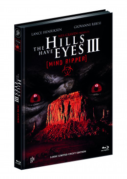 THE HILLS HAVE EYES 3 - WES CRAVENS MINDRIPPER (Blu-ray + DVD) - Cover C - Mediabook - Limited 222 Edition - UNCUT