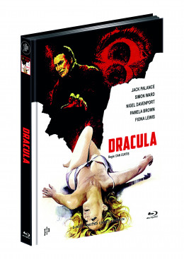 DRACULA (1974) (Blu-ray + DVD) - Cover D - Mediabook - Limited 111 Edition - UNCUT