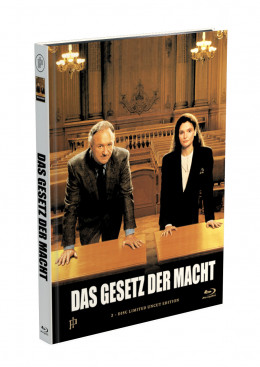 DAS GESETZ DER MACHT - 2-Disc Mediabook Cover A [Blu-ray + DVD] Limited 50 Edition - Uncut