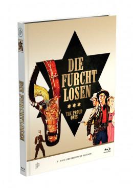 DIE FURCHTLOSEN - 2-Disc Mediabook Cover A [Blu-ray + DVD] Limited 50 Edition - Uncut