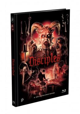 DISCIPLES - Jünger des Satans - 2-Disc Mediabook Cover A [Blu-ray + DVD] Limited 500 Edition - Uncut