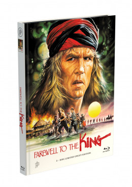 FAREWELL TO THE KING - Sie nannten ihn Leroy - 2-Disc Mediabook Cover A [Blu-ray + DVD] Limited 50 Edition - Uncut