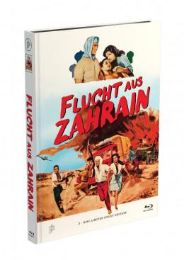 FLUCHT AUS ZAHRAIN - 2-Disc Mediabook Cover A [Blu-ray + DVD] Limited 50 Edition - Uncut