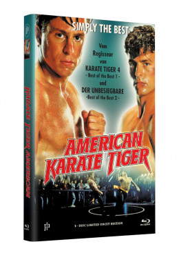 AMERICAN KARATE TIGER - Grosse Hartbox Cover A [Blu-ray] Limited 33 Edition - Uncut