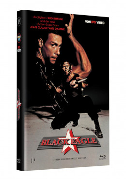 BLACK EAGLE - Grosse Hartbox Cover A [Blu-ray] Limited 33 Edition - Uncut