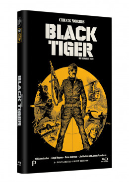 BLACK TIGER - Grosse Hartbox Cover A [Blu-ray] Limited 33 Edition - Uncut